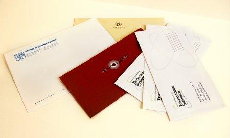 Блокноты и конверты